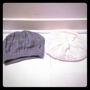 Forever 21 beanies (pre-owned)